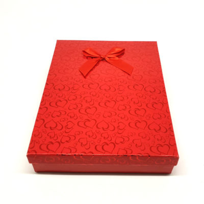 cutie cadou red love colier